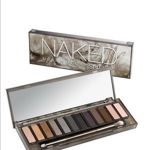Urban decay discontinued naked palette smokey used